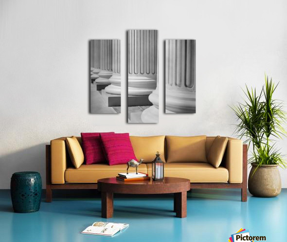 House Of Justice Canvas print