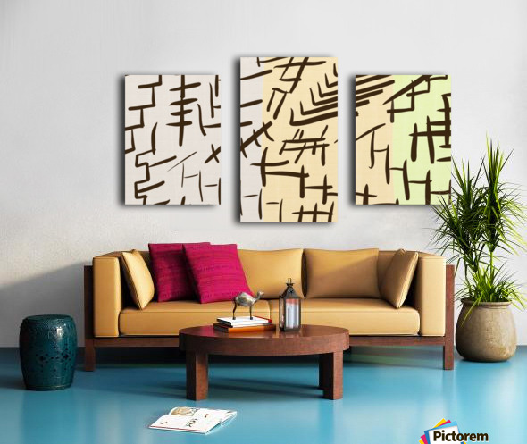 Chinesque Canvas print
