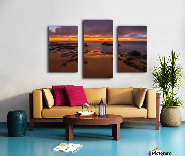 soft water Oahu Hawaii Canvas print