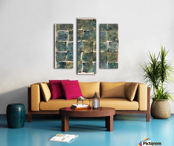 Square massy 5 - Abstract Photo Impression sur toile