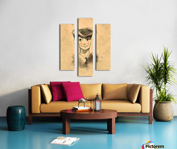 Monsieur Canvas print