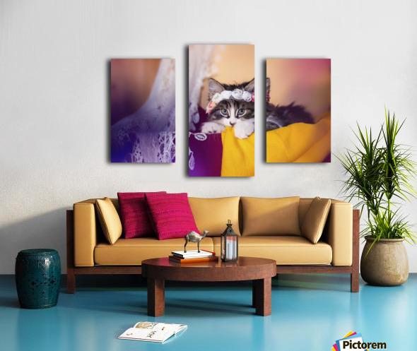 Murmur 2 Canvas print