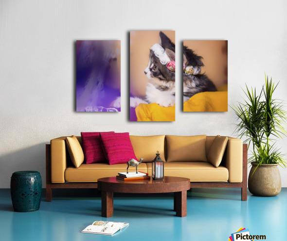 Murmur 3 Canvas print