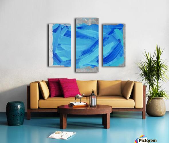 Blue. Walker W. Canvas print
