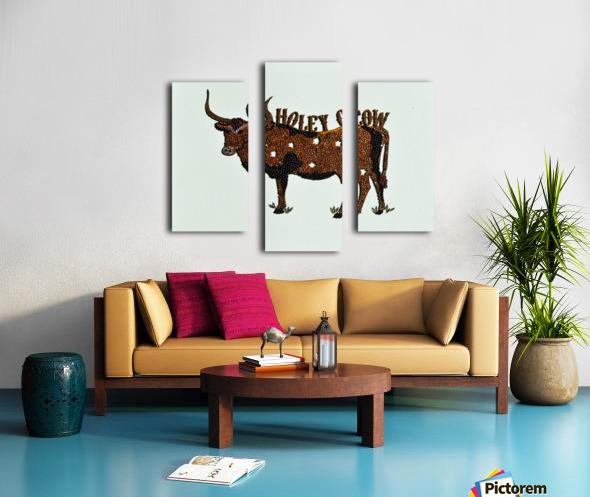 Holy Cow. Stephen R Canvas print
