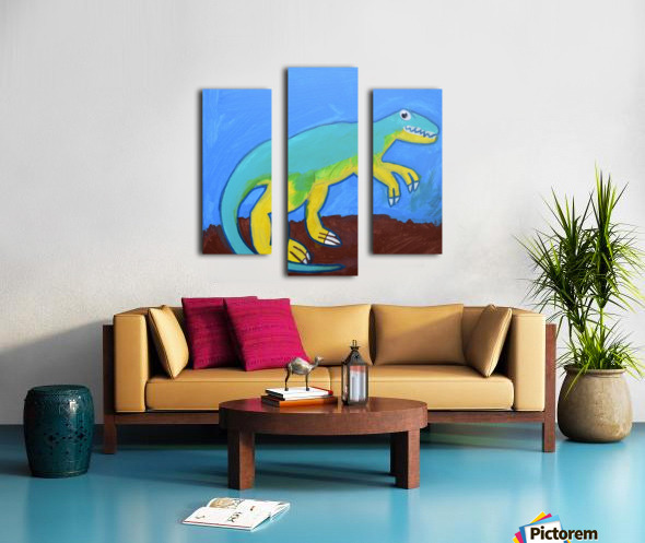 Dino. Dominic H Canvas print