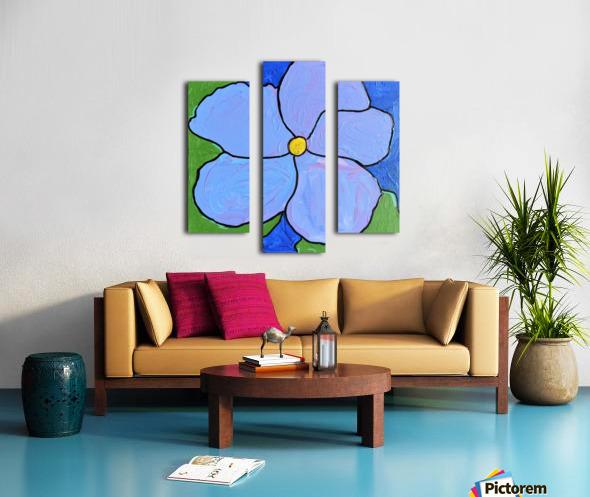 Purple Flower. Jessica A Canvas print