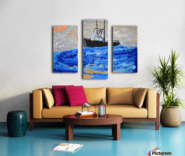 Tug Boat. Davey K Canvas print