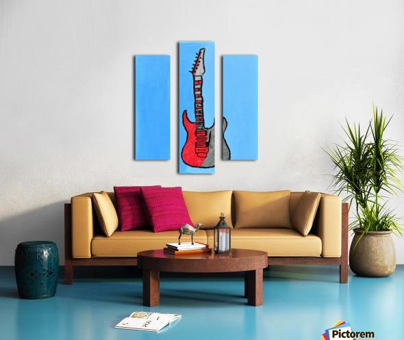 Rock N Roll. Glenn N. Canvas print