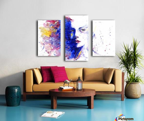 CAREFREE Canvas print