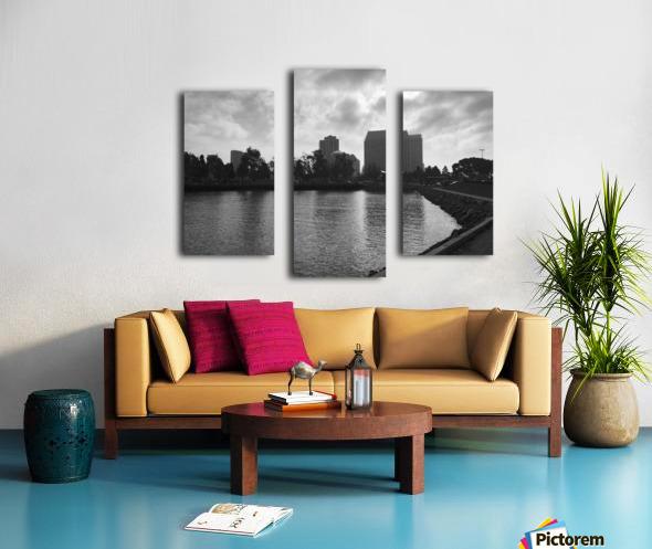 San Diego Marina Canvas print
