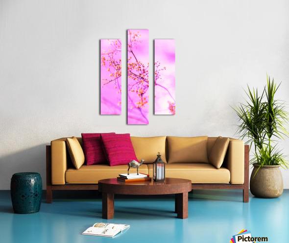 paint it pink  Canvas print