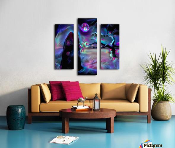 The Desert of Dreams Canvas print