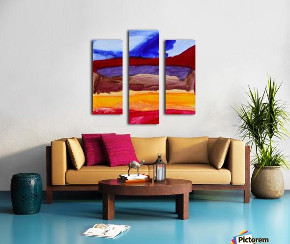 Fall Mountains. Anna B Canvas print