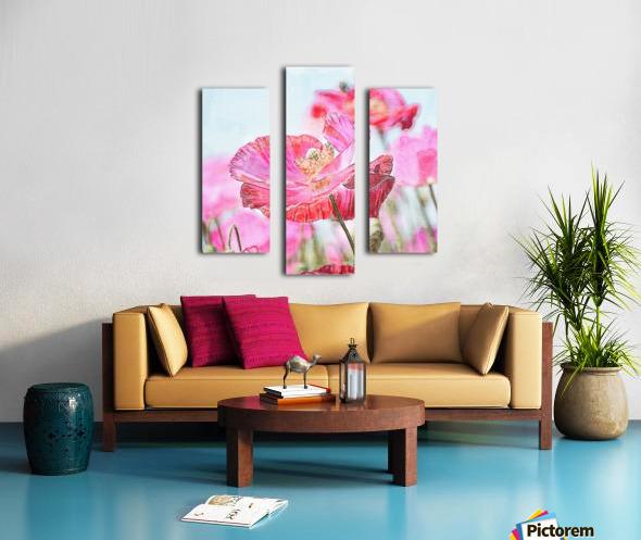 WILD POPPYS Canvas print