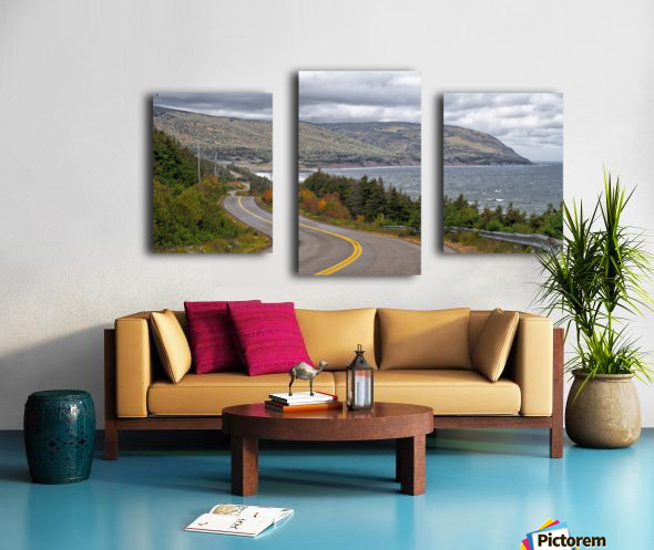 Long and Winding Road Canvas print