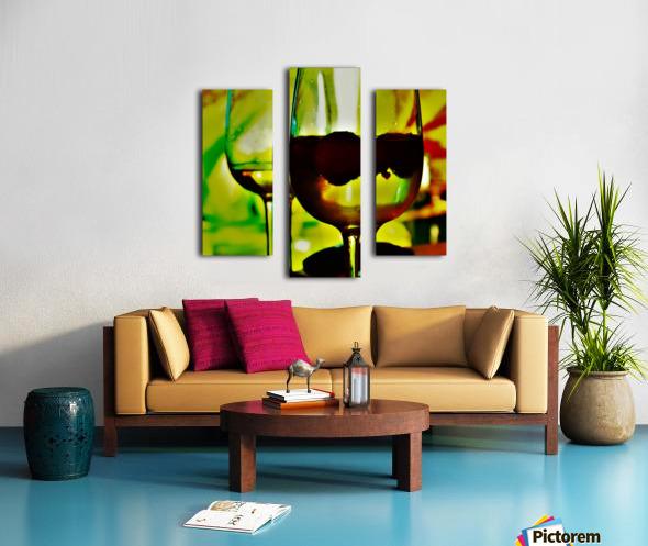 winedown Canvas print