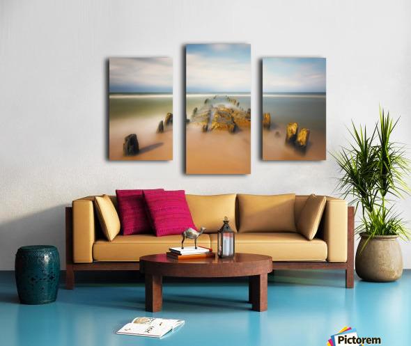sea road Canvas print