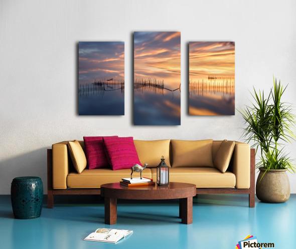 Fishnets Canvas print