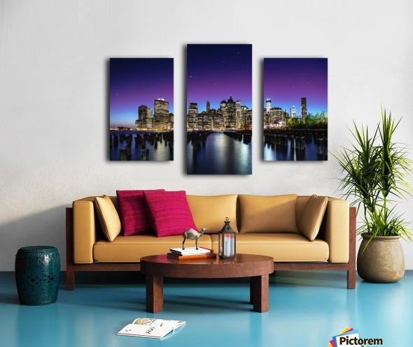 New York Sky Line Canvas print