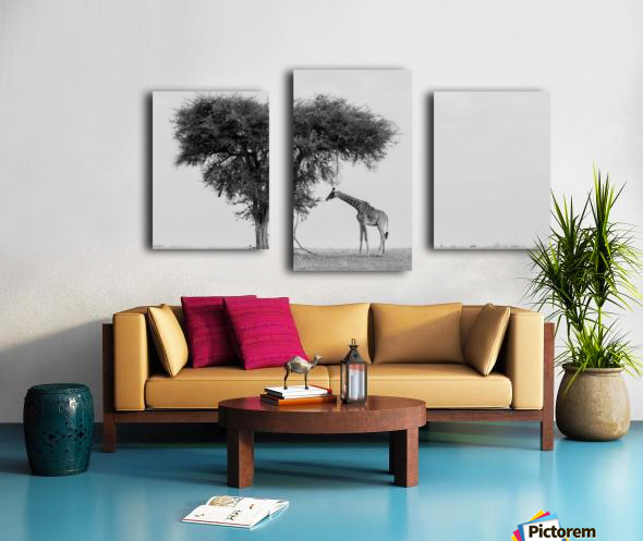 The wild Canvas print