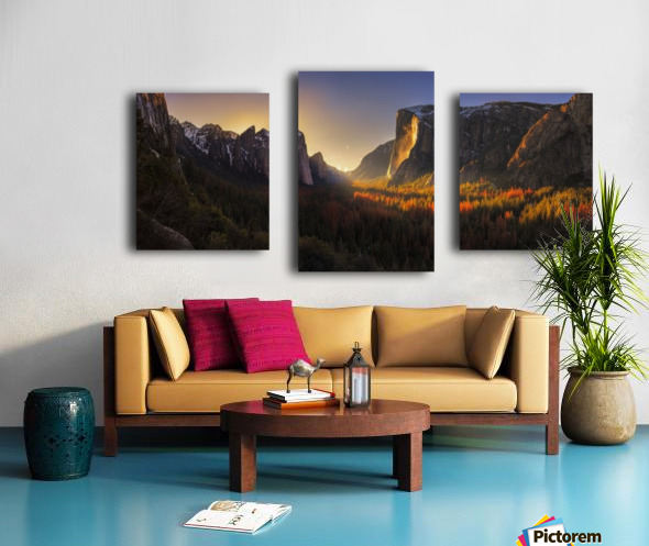 Yosemite Firefall Canvas print