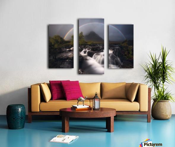 Etive Rainbow Canvas print