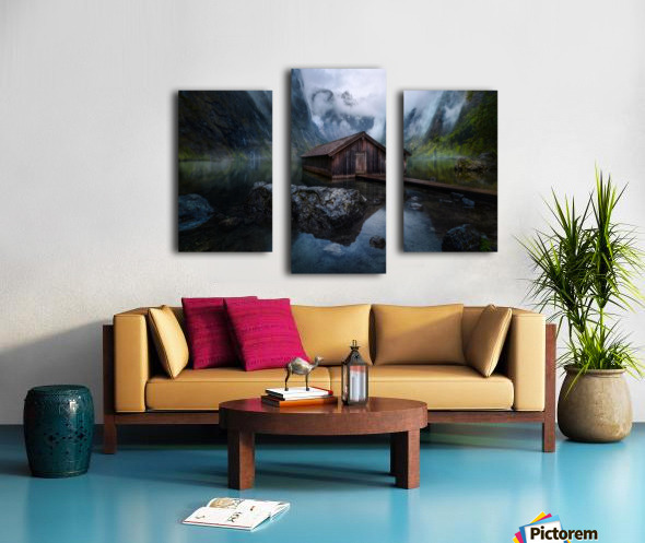 Ober-View Canvas print