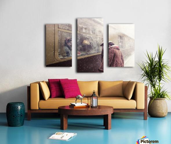 Take care Canvas print