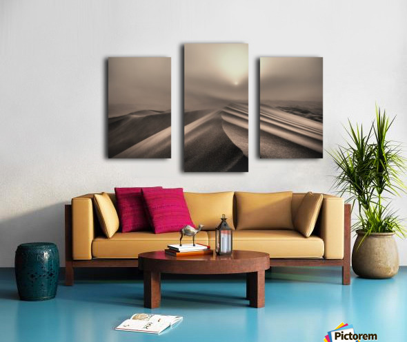 The perfect sandstorm Canvas print
