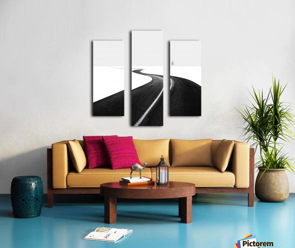 Road I Canvas print