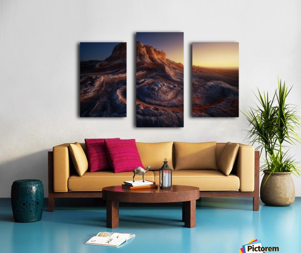 Gold Pocket. Canvas print