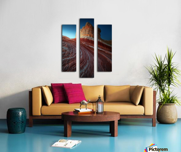 Lollipop rock Canvas print