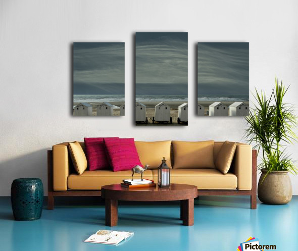 A quiet spot by the sea, just to 'be' ... Canvas print