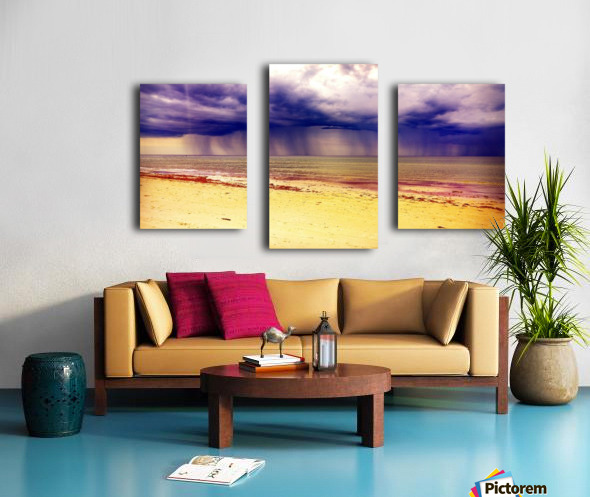 YELLOW BEACH Canvas print