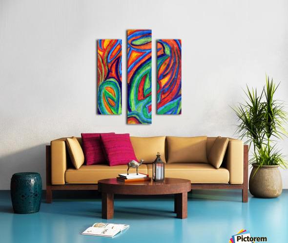 Floral Sense Canvas print