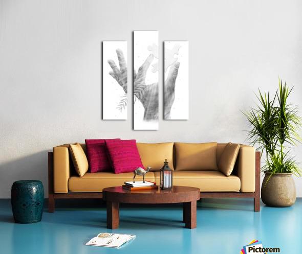 Pazzle Canvas print
