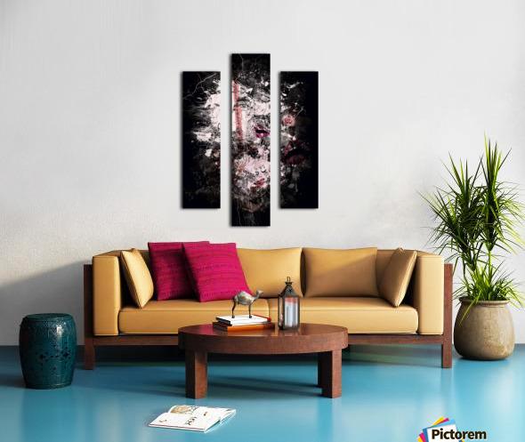 I Love Chanel N°388 Canvas print