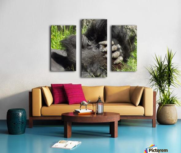 Gorilla Headache Canvas print
