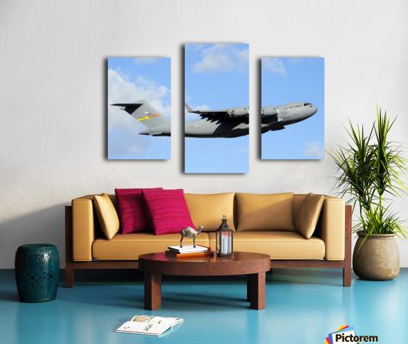 A C-17 Globemaster III Canvas print