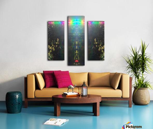 Warrior Totem Canvas print