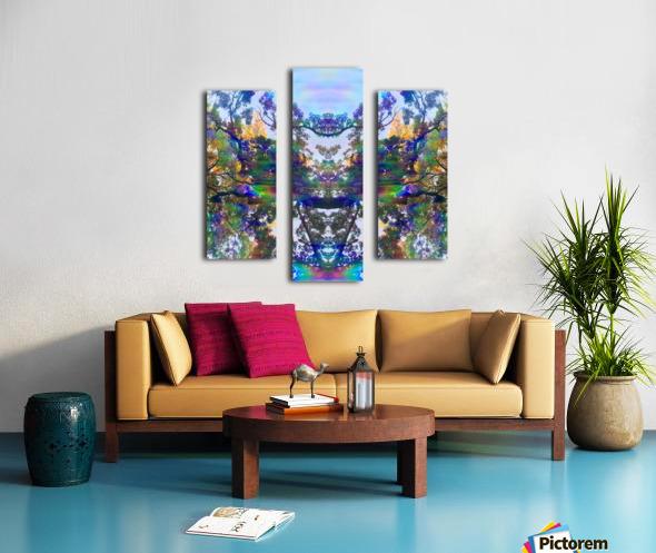 Deer King Canvas print