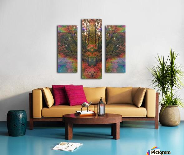The Happy Totem Canvas print