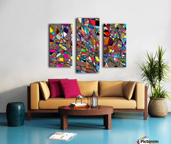 Jazzotonic Canvas print
