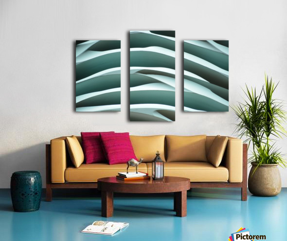 MYSTIC SEA X2 Canvas print