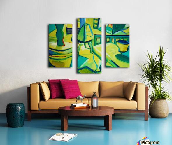 interno Canvas print