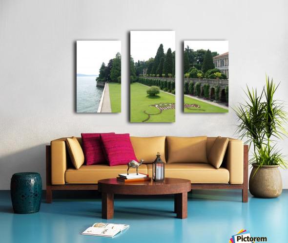 Island Lawn Canvas print