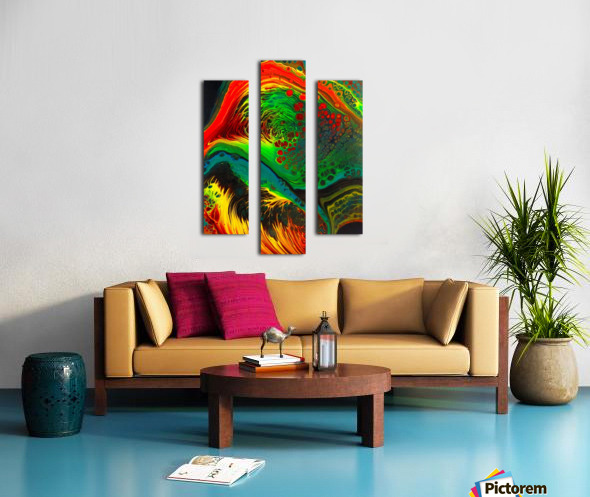 Cosmic Fusion Canvas print
