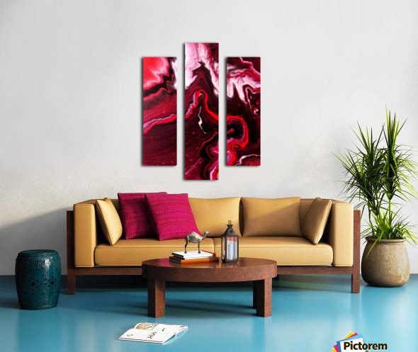Cherries and Wine 2 Canvas print