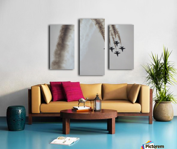 Flyovers Canvas print
